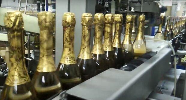 Шампанське, скріншот із відео