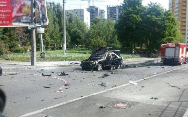 Взорванного в Киеве полковника связали с погибшим депутатом