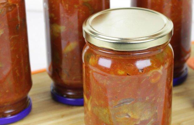 Гриби в соусі чилі, фото: кадр з відео