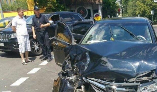 В центре Киева произошла ужасная авария