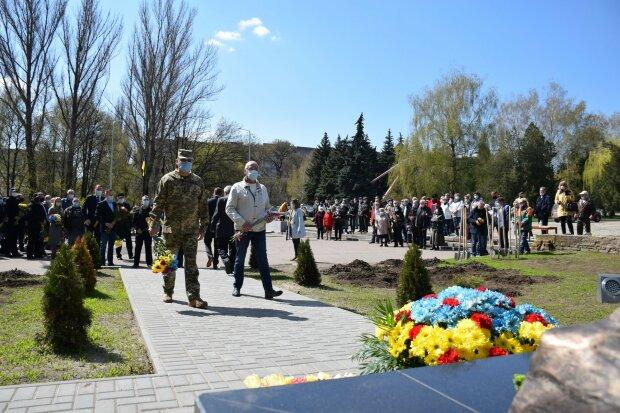 35-та річниця трагедії на ЧАЕС, Краматорськ, фото штаб ООС