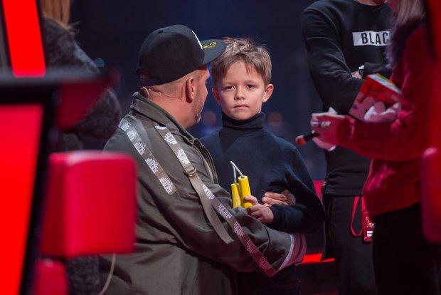 Весь в отца: Потап привел малолетнего сына в звездную тусовку
