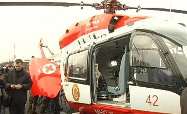 Медичний вертоліт, скріншот