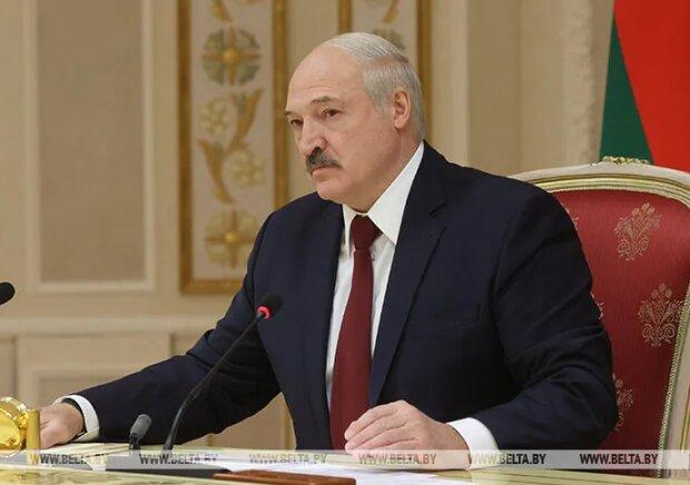 Александр Лукашенко на пресс-конференции, скрин
