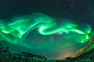 """NASA повстречали исландского """"огнедышащего дракона"""""""