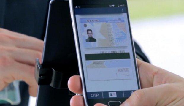 Паспорт в смартфоне