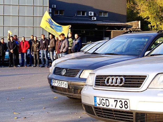 """""""Братки"""" не евробляхах совсем потеряли страх, полиция бессильна: скандальные фото"""
