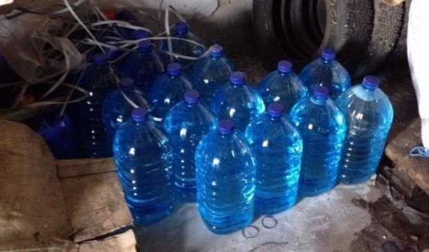 Подпольный алкоцех заливал спиртным зону АТО