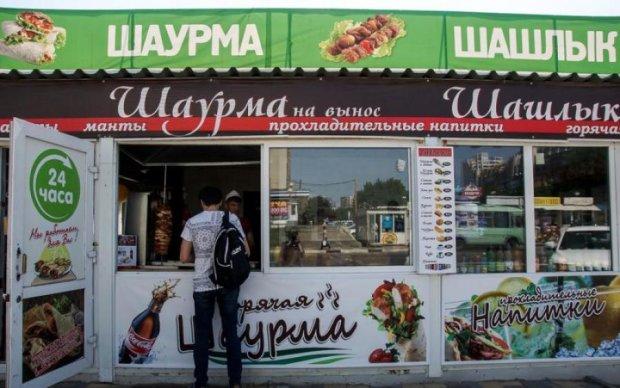 Отруєння шаурмою у Києві: названо найнебезпечніші точки