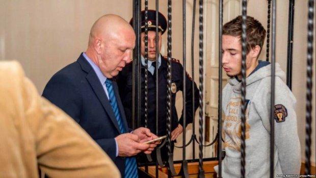 суд над українським політв'язнем Павлом Грибом