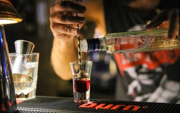 Благодаря плохому освещению можно стать алкоголиком