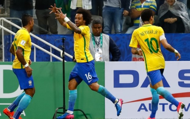 Бразилия выиграла у Парагвая и квалифицировалась на Чемпионат мира