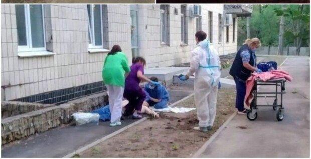 У Києві два пацієнти вистрибнули з вікна лікарні, в якій лікують коронавірус