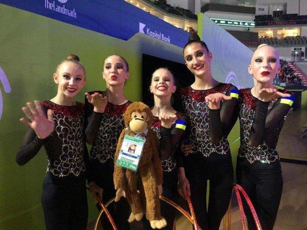 Історичні медалі: українські гімнастки завоювали срібло на чемпіонаті Європи в Баку