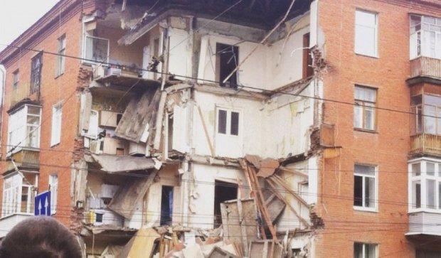В Перми обрушился угол пятиэтажки (фото)