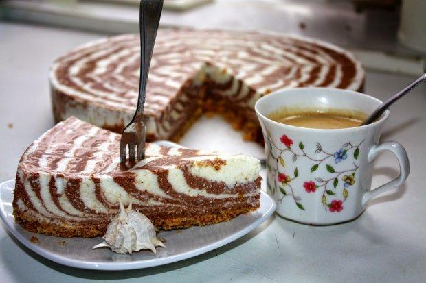 Рождество 2019: творожный пирог с шоколадом