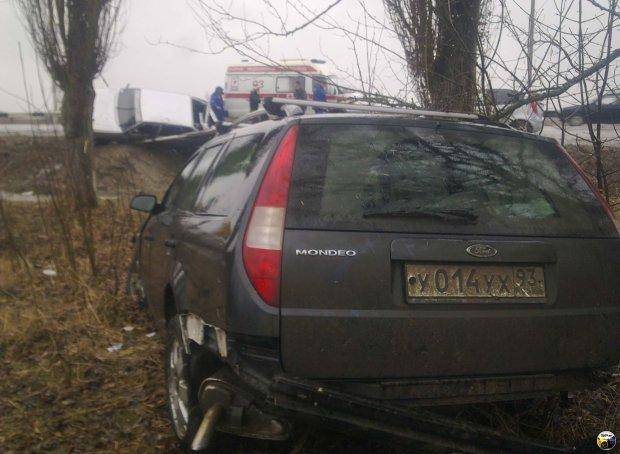 Под Днепром пьяный евробляхер устроил ДТП: много трупов, погиб младенец