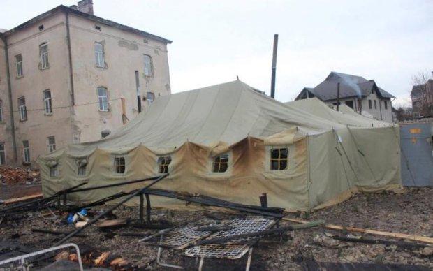 Стратегічний об'єкт ЗСУ охопив вогонь: фото