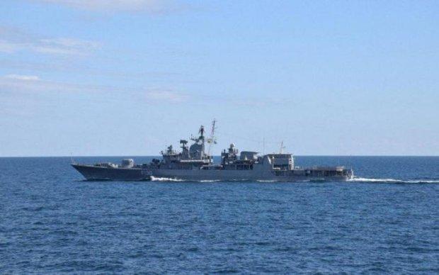 Корабли НАТО и ВМС Украины припугнули Путина в Черном море: фото