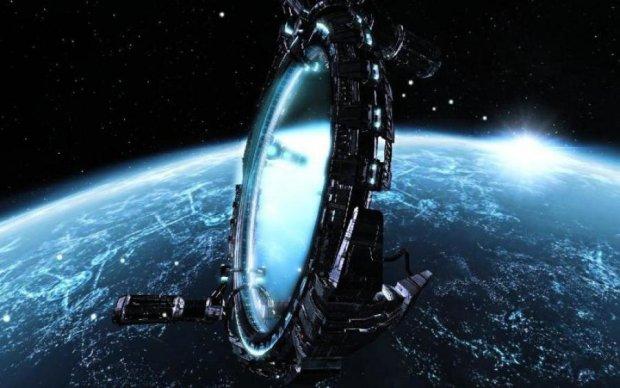 МКС засняла портал пришельцев над Землей