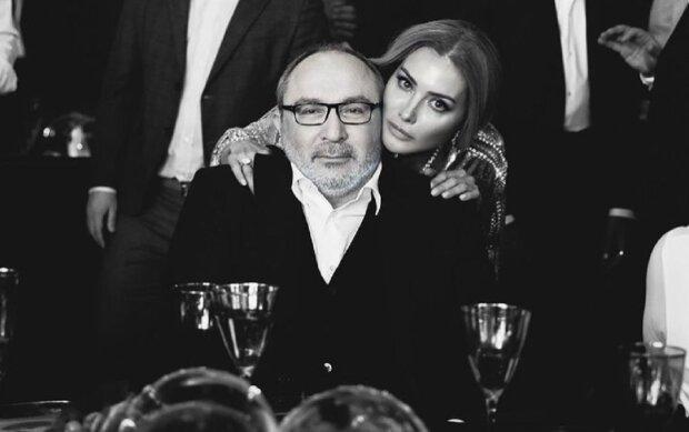 Геннадий Кернес и Оксана Гайсинская, фото: Instagram oksanag2406