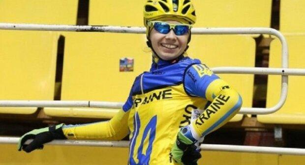 Юная львовянка показала Кличко, что делать с велосипедом - третья в Европе