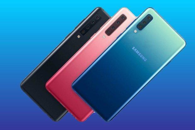 Samsung Galaxy A50: бюджетник с тройной камерой и огромным экраном