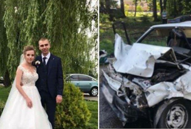 На Львівщині п'яний зять судді протаранив автівку молодят, фото-1