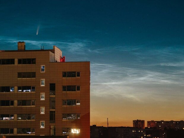 комета, фото: Pavlo Pakhomenko