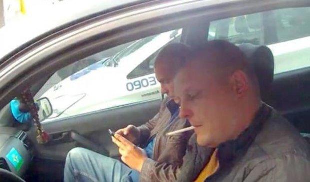 Київські патрульні затримали п'яних беркутівців