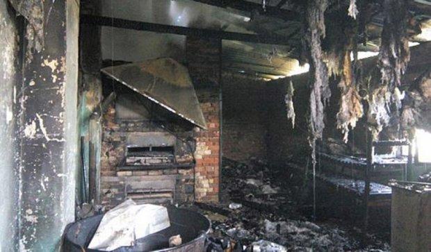 В Тернопільській області згоріла пекарня (фото)