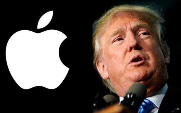 "Яблоко для президента: Трамп ""пересел"" с Android на iPhone"