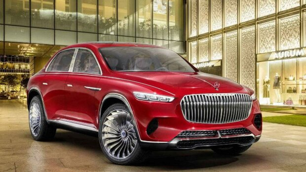 Mercedes-Maybach GLS, автоцентр