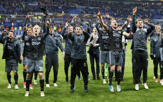 Аякс вийшов у фінал єврокубка вперше за двадцять років