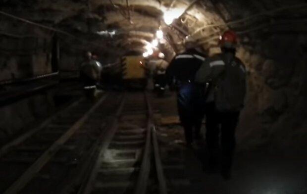 шахта, скріншот з відео