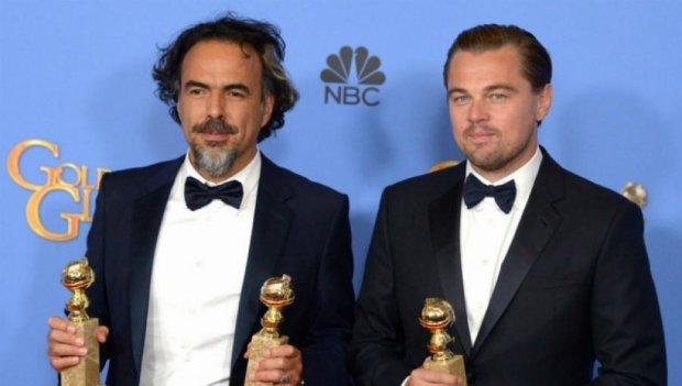 """Ді Капріо отримав третій """"Золотий глобус"""""""