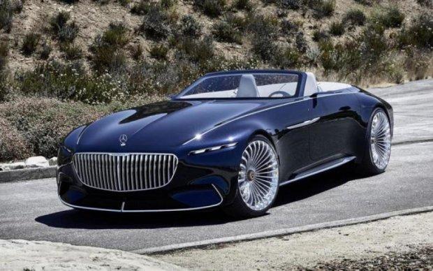 Maybach презентовал самый роскошный электромобиль