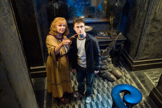 Молли Уизли и Гарри Поттер