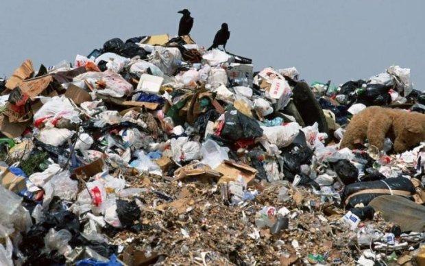 Черговий укранський мегаполіс потопає у смітті