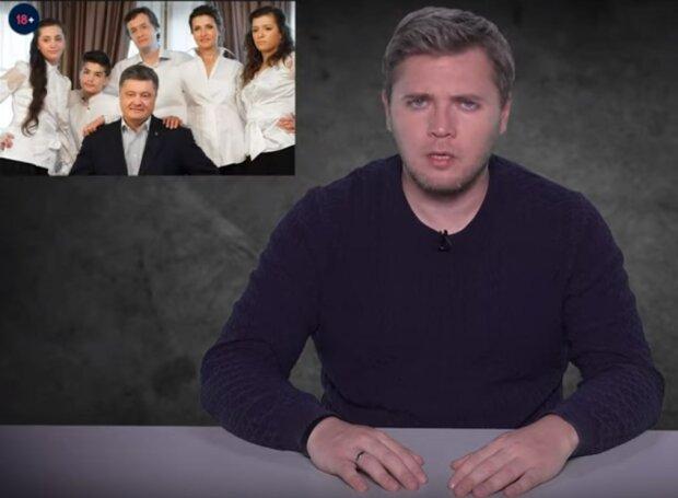 """Игорь Лесєв в программе """"Не добрый вечер"""", скрин с видео"""