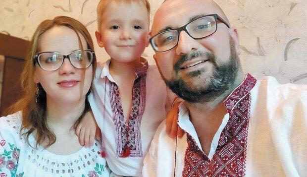 Сергей Бригар с семьей, facebook.com/serhiibryhar