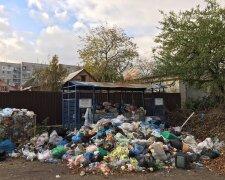Вивіз сміття у Одесі, фото: Пушкинская