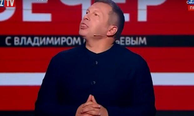 Рохкав і плювався, як почув про Україну: у пропагандиста Соловйова остаточно поїхав дах