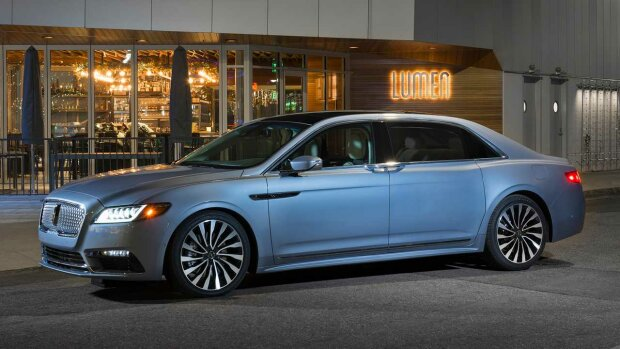 Lincoln Continental, carscoops