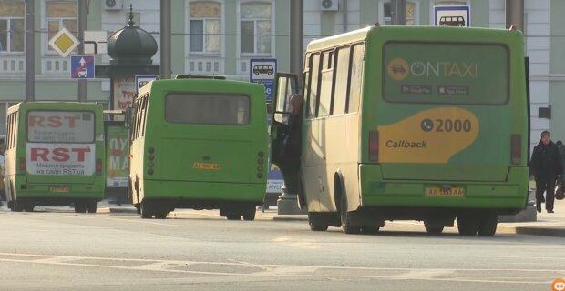 маршрутки, скріншот з відео