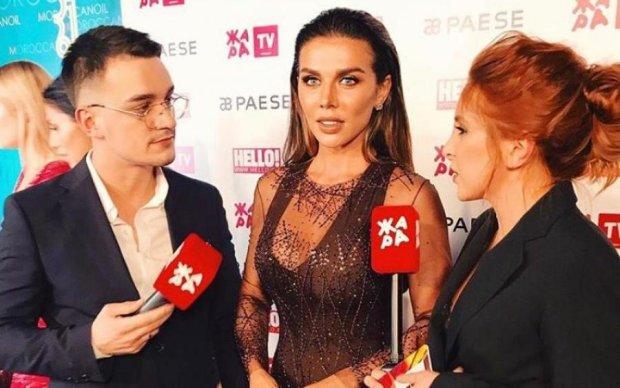 Седокова в прозрачном платье показала больше, чем планировала