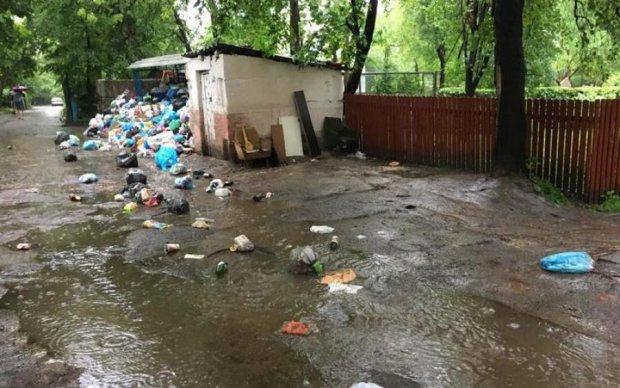 Львовский мусор потек улицами города