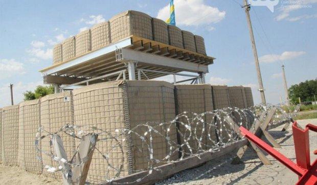 Обновлены блокпосты на Днепропетровщине (фото)