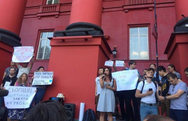 """""""Сьогодні Портнов, завтра – Янукович"""": протест студентів нарешті почули, радикальне рішення прийнято"""