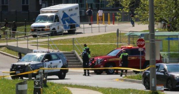 Стрельба в Торонто, фото: CBC